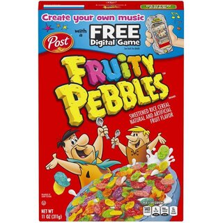Post - Fruity Pebbles Cereals - 311g