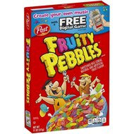 Post - Fruity Pebbles Cereals - 311g 12 Pieces