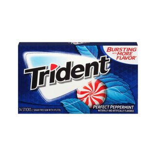 Trident - Perfect Peppermint - 14 Stück