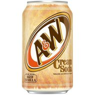 A&W - Cream Soda - 12 x 355 ml