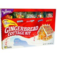Wonka Gingerbread Cottage Candy Kit - 1 x 907 g