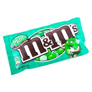 M&Ms - Mint/Dark Chocolate - 42,5g