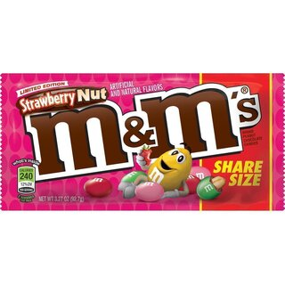 M&Ms - Strawberry Nut - 92,7g