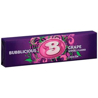 Bubblicious Grape 5 Stück - 40g