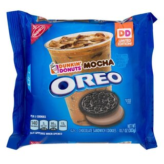 Oreo - Dunkin Donuts Mocha Chocolate Sandwich Cookies - Limited Edition - 303g