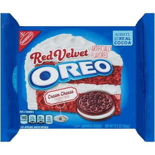 Oreo - Red Velvet Cream Cheese Sandwich Cookies - Limited Edition - 345g