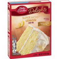 Betty Crocker - Super Moist - Lemon Cake Mix - 432 g
