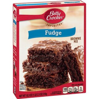 Betty Crocker - Fudge Brownie - 12 x 519  g