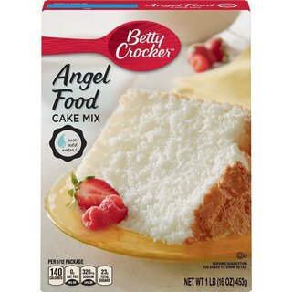 Betty Crocker - Super Moist - White Angel Food Cake Mix - 453 g