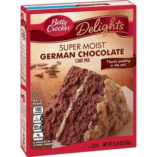 Betty Crocker - Super Moist - German Chocolate Mix - 432 g
