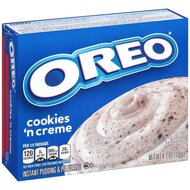 Jell-O - Oreo Cookies And Cream Instant Pudding & Pie...