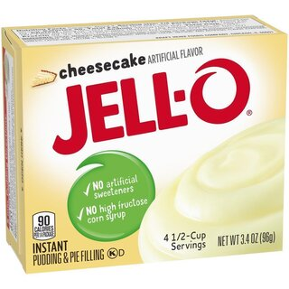 Jell-O - Cheesecake Instant Pudding & Pie Filling - 96 g