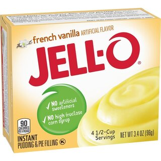 Jell-O - French Vanilla Instant Pudding & Pie Filling - 96 g
