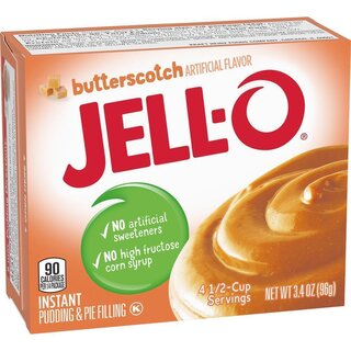 Jell-O - Butterscotch Instant Pudding & Pie Filling - 96 g