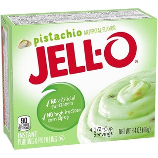 Jell-O - Pistachio Instant Pudding & Pie Filling - 96 g