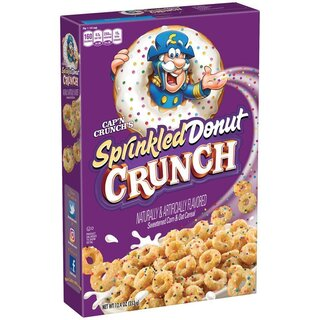 Capn Crunch - Sprinkled Donut Crunch - 353g