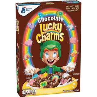 Lucky Charms - Chocolate - Cereal with Marshmallows - 12 x 311g