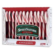 Sweet Nature Candy Canes - Cinnamon - 1 x 150g