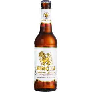 Singha - Lager Beer 5% Vol/Alc. - 330 ml