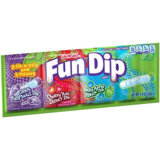 Fun Dip - Lik a Stix - Grap, Cherry, Apple - 1 x 39,6g