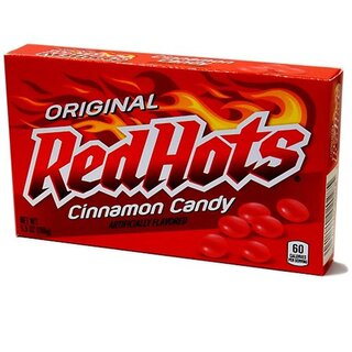 Red Hots - Cinnamon Flavored Candy - 1 x 156g