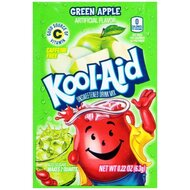 Kool-Aid Drink Mix - Green Apple - 24 x 6,3 g