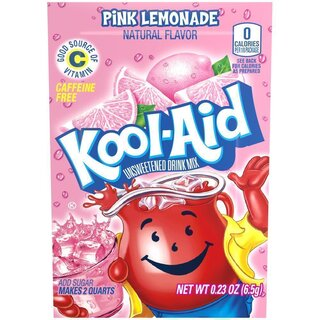 Kool-Aid Drink Mix - Pink Lemonade - 6,5 g