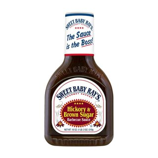 Sweet Baby Rays - Hickory & Brown Sugar Sauce - 510g