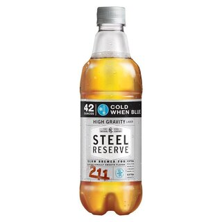 Steel Reserve High Gravity Lager Beer - 1 x 1,24l