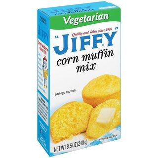 Jiffy - Corn Muffin Mix Vegetarian  - 1 x 240 g