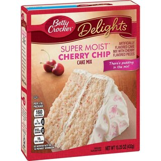 Betty Crocker - Super Moist - Cherry Chip - 432 g