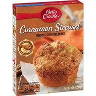 Betty Crocker - Cinnamon Streusel Muffin and Quick Bread...