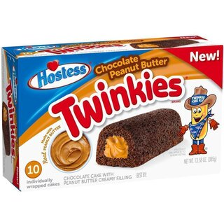Hostess Twinkies Chocolate Peanut Butter - 385g