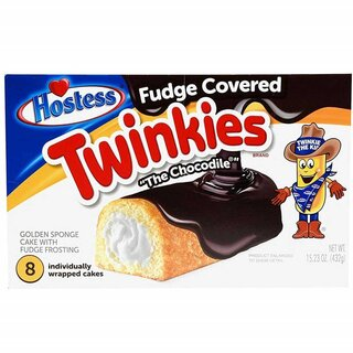 Hostess Twinkies - Fudge Covered  The Chocodile - 432g