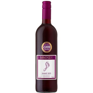 Barefoot - Jammy Red California Rotwein 10,5% vol. - 750ml