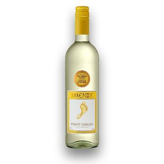 Barefoot - Pinot Grigio California Weißwein 12% vol. - 750ml
