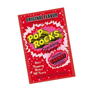 Pop Rocks Cherry - 1 x 9,5g
