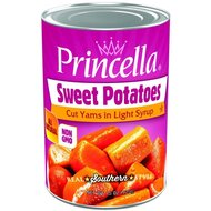 Princella - Sweet Potatoes Cut Yams in Syrup - 1 x 425g