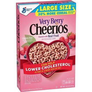 Cheerios Very Berry - Large Size - 411g