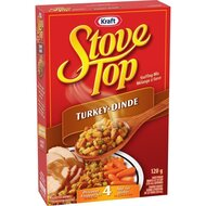 Kraft - Stove Top Stuffing Mix Turkey Dinde - 1 x 120 g