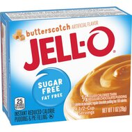 Jell-O - Butterscotch Instant Pudding & Pie Filling Sugar...