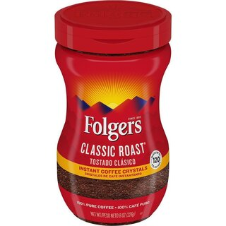 Folgers Classic Roast Instant Coffee - 226g