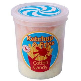Cotton Candy Ketchup & Fries - 1 x 50g