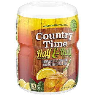 Country Time - Half & Half - 12 x 538 g