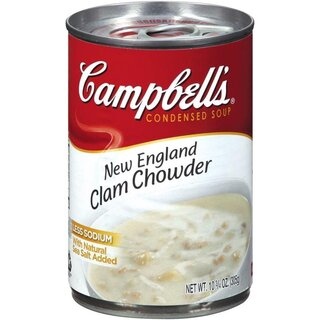 Campbells - New England Clam Chowder Soup - 305 g
