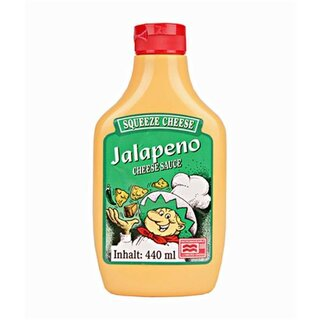 Jalapeno Squeeze Cheese Microwaveable - 440g