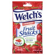 Welchs Fruit Snacks Strawberry - 1 x 64g