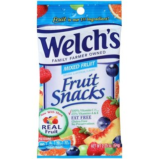 Welchs Fruit Snacks Mixed Fruit - 64g