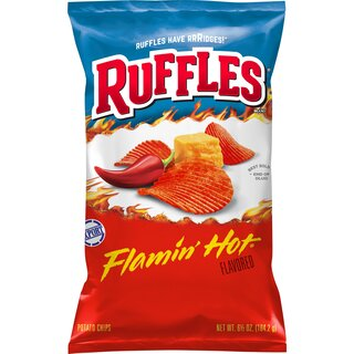 Ruffles - Flamin Hot Potato Chips - 184,2g