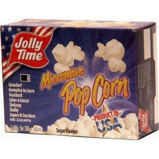 Jolly Time Microware Popcorn Sugar Flavor - 300g